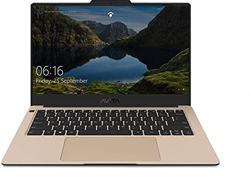 Avita Liber V14 Ryzen 5 Quad Core 3500U – (8 GB/512 GB SSD/Windows 10 Home) NS14A8INV562-PAD Thin and Light Laptop (14 inch, Ornament On Gold, 1.25 kg)