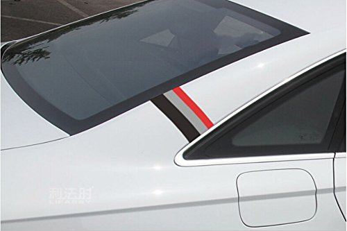 50 Quot Audi Sports Racing Stripe Vinyl Car Stickers Decal For