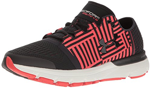Under Armour Men Speedform Gemini 3 Running Shoes Black/Pomegranate