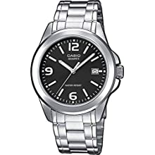 Casio Collection MTP-1259PD-1A, Reloj Análogo Clásico, Acero Inoxidable, Plateado