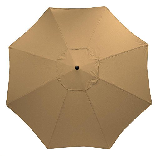 HamptonBay 11 ft. Aluminum Patio Umbrella ()