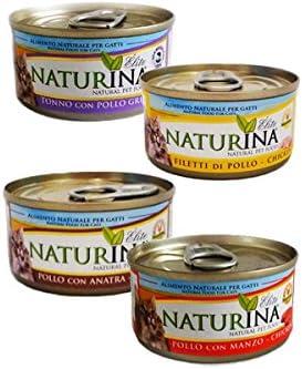 naturina húmedo gato 23 latas Sabores Surtidos de 70 gr (podrá ...