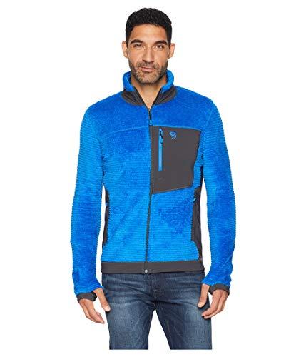Mountain Hardwear Mens Monkey Man Fleece Jacket, Altitude Blue, XX-Large