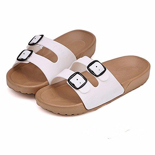 Antideslizante Junto Vacaciones Verano la baño Zapatos de Zapatos mar Shoes YMFIE Playa Men's a Sandalias Dew Toe al Piscina en Ywxqd8