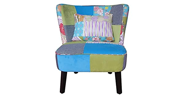 Amazon.com: Pacific Coastal Patchwork Occasional Chair ...