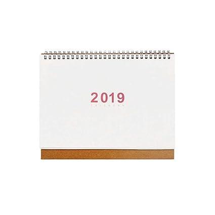 Agenda 2019 Calendarios Agenda de la Oficina en casa ...