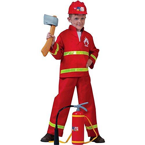 Fireman Frank Kids Costume