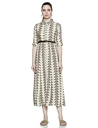 Varanga Rayon a-line Dress