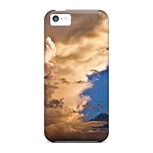 New Arrival Premium 5c Case Cover For Iphone (stunning Clouds)