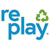 """Re-Play Made in USA 3pk - 7.37"""" Divided Plates with"""