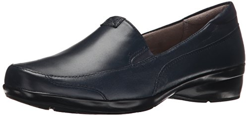 Naturalizer Women's Channing Slip-On Loafer, Navy, 8.5 W ()