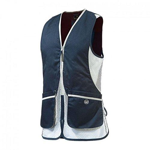 Beretta Women's Silver Pigeon Shooting Vest, Navy Blue, X-Large by Beretta