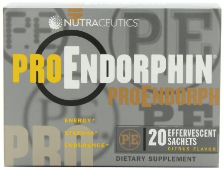 Effervescent Stick Packs (Nutraceutics ProEndorphin, Citrus Flavor, 20 effervescent sachets)