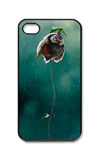 iphone 4/4s case,Whispering Lion's Den , theartofanimation Therese Larsson something for Katie to ponder [Non-Slip] [Exact-Fit] Case Slim **NEW** [Fit Series] [Thin Fit] [Smooth Black] Hard Case - ECO-Friendly Packaging - Slim Case for iphone 4 / 4s,black