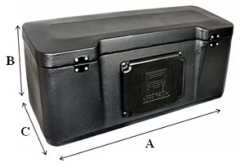 Tamarack Quad Trunk - Standard Quad Trunk by Tamarack ATV. Fits all Standard Tubular ATV Racks. S-1400