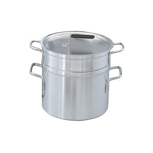 Vollrath 67717 Aluminum Double Boiler with 17.5 Qt Inset And 20 Qt Pot