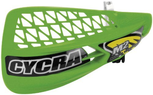 Cycra M2 Recoil Handshield Racer Pack Vented Green Universal (Racer Handguard Pack Vented)