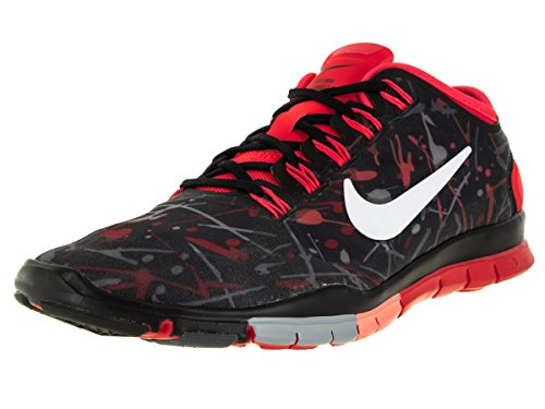 NIKE Womens Free Connect 2 Trainer Black/White/Bright Crimson/Stlth CEnfTX1HF2