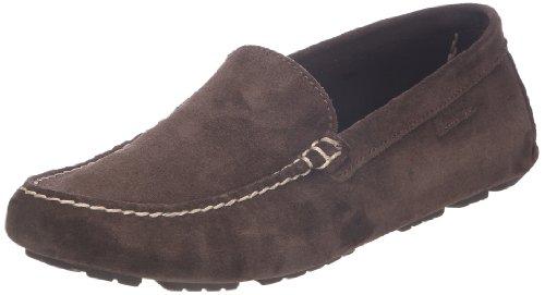 Aigle Longlake - Mocasines de cuero Hombre marrón - Marron foncé