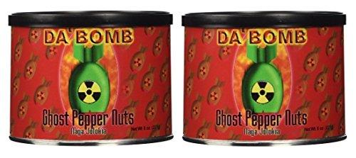 Price comparison product image Da Bomb - Ghost Pepper Nuts,  8oz - 2 Pack