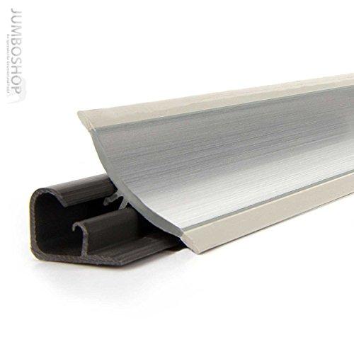 150cm Küchenabschlussleiste Küchenleiste Wandabschlussleiste -- 23 x 23mm LB23-610 ALUMINUM -- Abschlussleiste DPD Küchen Arbeitsplatten