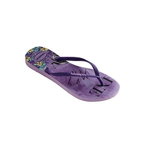 Havaianas - Sandalias de Punta Descubierta Mujer lila 2529