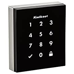 The Obsidian touchscreen electronic deadbolt is a keywayless, low-profile, one-touch locking motorized deadbolt. With your personalized code, you can enter your home with the convenience of keyless entry and the LED illumination provides incr...