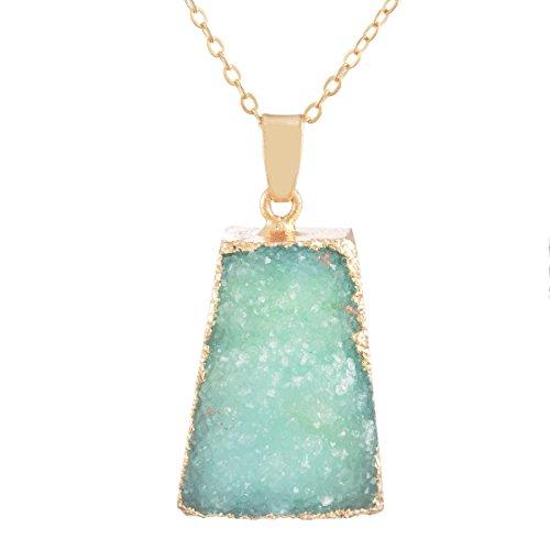 MJARTORIA Natural Healing Pendant Necklace