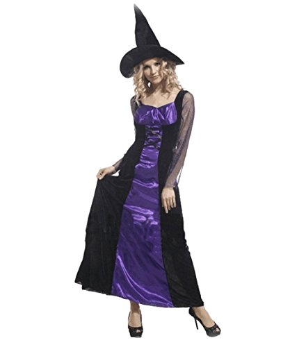 Fashion witch dress and hat sets Halloween cosplay Vampire princess dress costumes
