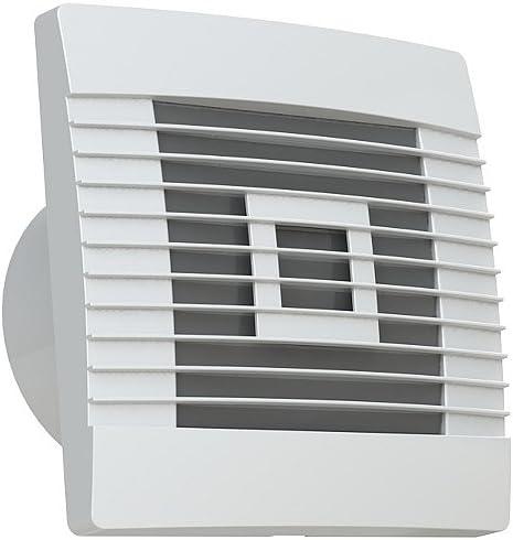 Vents RTH100WH – Ventilador con relé de seguimiento y detector de movimiento Diámetro 100, 120, 150 mm Prestige, Weiss, Ø 150 20.00 watts: Amazon.es: Hogar