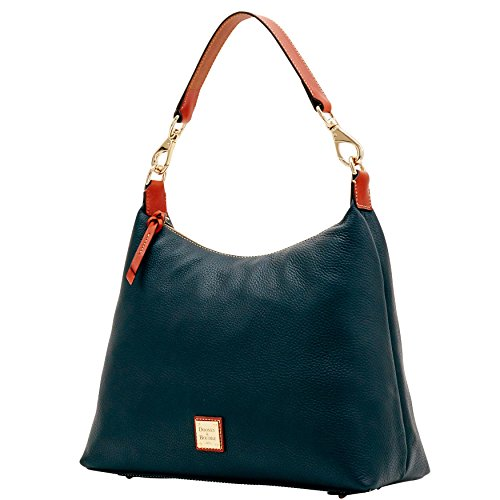 amp; Black Juliette Hobo Pebble Grain Bourke Dooney Bag Shoulder RwPxzZx