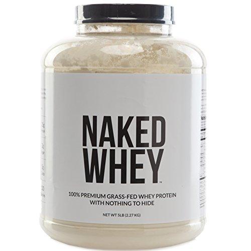 LACTOSÉRUM nu - #1 non dénaturé 100 % Fed Whey protéine poudre d'herbe de fermes de la Californie - 5lb en vrac, sans OGM, sans gluten, soja libre, préservatif gratuit - stimuler la croissance musculaire - récupération - 76 portions d'améliorer