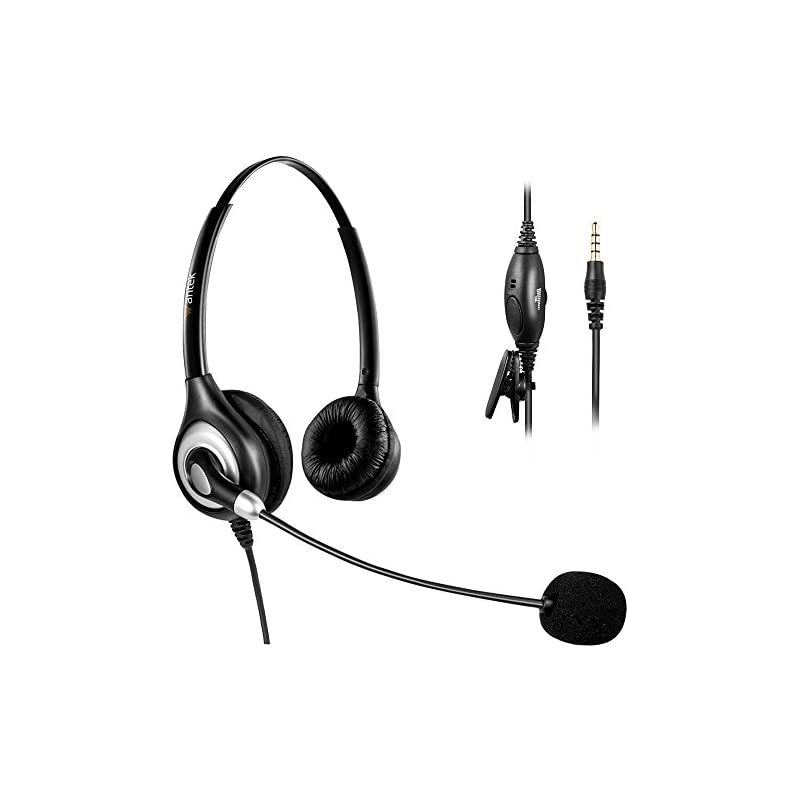 Arama Wantek Headset with Noise Cancelin