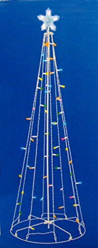 Outdoor Lighted Metal Trees - 9