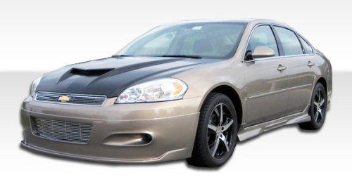 2006-2012 Chevrolet Impala Duraflex Racer Kit - Includes Racer Front Lip (103094), Racer Rear Lip (103096), and Racer Sideskirts (103095). - Duraflex Body Kits