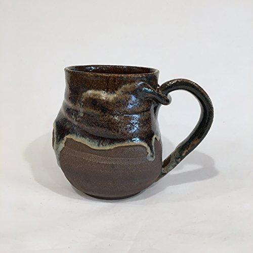 Twisted Ceramic Mug, Handmade Coffee Mug 15 OZ TWDCM1