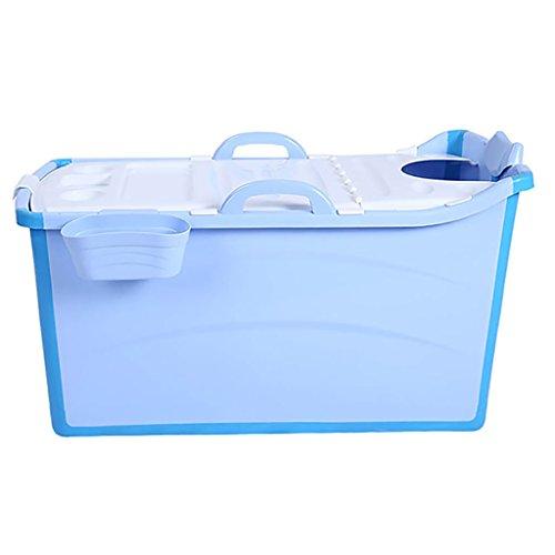 ZHAORU-Baños de aire Cubo De Baño para Adultos Extendido Cubo De Plástico Plegable para Niños Bañera Grande Bañera...