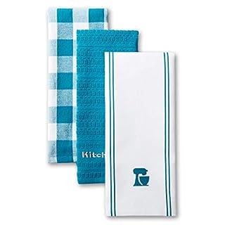 KitchenAid Mixer Kitchen Towel Set, Set of 3, Ocean Drive 3 Count