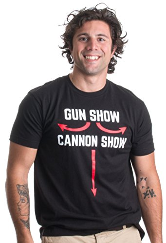Cannon Show |Funny Gun Show Pun, Weight Lifting Work Out Humor Unisex T-shirt