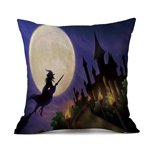 Halloween Pillowcase,1pcs New Happy Halloween Sofa Bed Festival