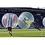 YaeKoo PVC Transparent 5 Feet 1.5M Diameter Inflatable Bumper Ball Human Knocker Ball Bubble Soccer Football Outdoor Zorb Ball