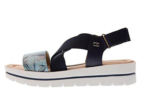 Wr6qfrxor Chaussures Sandales Valleverde Bleu Blue Femme 32331 For dqYnfXwf