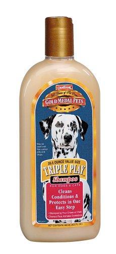 Cardinal Laboratories Gold Medal Triple Play Shampoo, 20-1/2-Ounce, My Pet Supplies