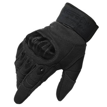 Walid Tactical Military Motorcycle Bicycle Airsoft Hunting Full Finger Gloves For Scoyco MC12 CAMTOA