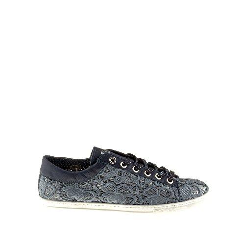 Bleu Amour Femme Tomber Bleu Felmini Fame B020 Chaussures Baskets Véritable Avec Textile en O7HxBq