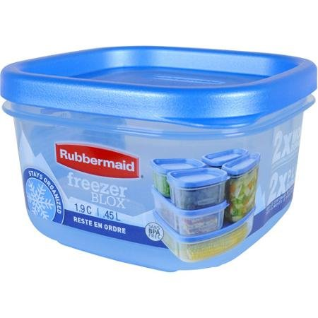 Rubbermaid 1.9-Cup Freezer Blox Food Storage Container (3 pack) ()