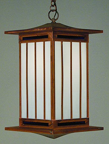 Craftsman Hanging Porch Light - 8