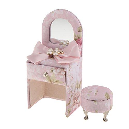 Blesiya Cute Sofa Dresser Chair Children Fabric Jewellery Box Organiser Girls Gift - Dresser by Blesiya