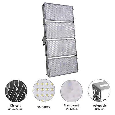 Viugreum LED Flood Light, Waterproof IP65 Outdoor Security Floodlights Landscape Spotlights Wall Lighting for Garage, Garden, Lawn and Yard