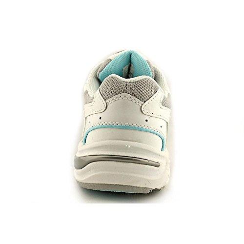 Vionic Walker Femmes Blanc Cuir Chaussures Baskets de sport 38 EU